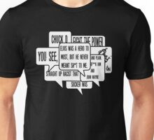 Chuck D Fight the Power Quote Unisex T-Shirt