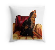 Alley Cat's Sunny Chair Throw Pillow
