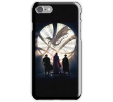 Benedict Cumberbatch 4 iconic characters by lichtblickpink iPhone Case/Skin