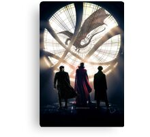 Benedict Cumberbatch 4 iconic characters by lichtblickpink Canvas Print