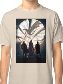 Benedict Cumberbatch 4 iconic characters by lichtblickpink Classic T-Shirt