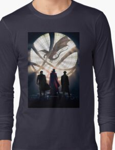 Benedict Cumberbatch 4 iconic characters Long Sleeve T-Shirt