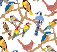 bird pattern Sticker