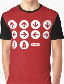 Game Cheat Code  Graphic T-Shirt