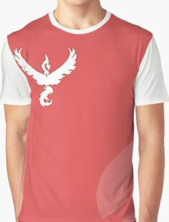 Pokemon Go - Team Valor / Valour - RED TEAM Graphic T-Shirt