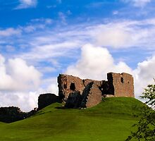 Duffus Castle, Scotland by Peter Martin