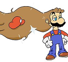 Mario with Glorious Hair by JojoLyon