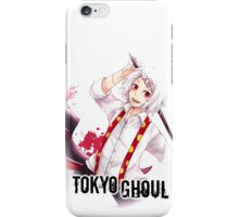 juuzou going ghoul huning in black text iPhone Case/Skin