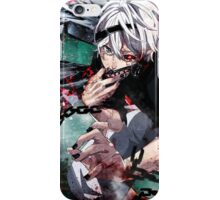 kaneki white hair transformed iPhone Case/Skin
