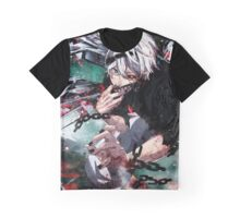kaneki white hair transformed Graphic T-Shirt