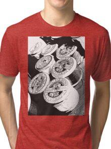 Vintage Cotton Reels Tri-blend T-Shirt