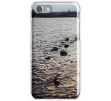 Step Stones - Lake iPhone Case/Skin
