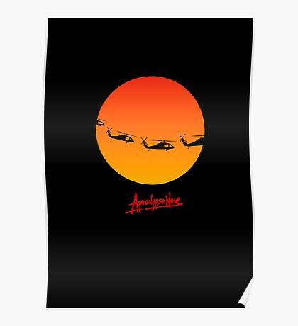 Apocalypse Now minimalist poster, t-shirt design 2 Poster