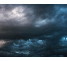 Storm Front~ Tryptic Image 3 Photographic Print