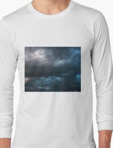 Storm Front~ Tryptic Image 3 Long Sleeve T-Shirt