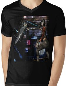 Future Shock 2 Mens V-Neck T-Shirt