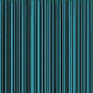 Blue Line Abstract by angelandspot