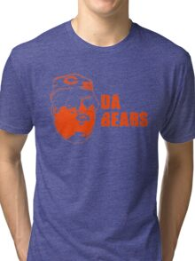 DA BEARS Chicago bears shirt funny Tri-blend T-Shirt