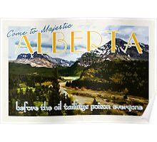 Come to Alberta  Poster