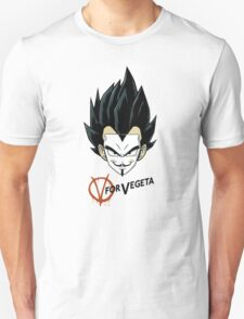 V for Vegeta Unisex T-Shirt