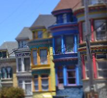 San Francisco Ashbury Haight by Sutteyo