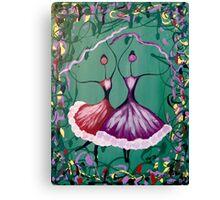 Festive Dancers Canvas Print