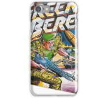 Konami Green Beret Video Game  iPhone Case/Skin