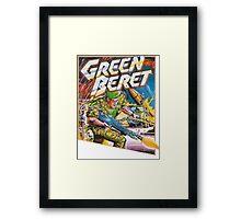 Konami Green Beret Video Game  Framed Print