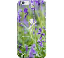 White amid the Blues iPhone Case/Skin