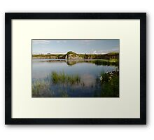 Quietly Reflecting Framed Print