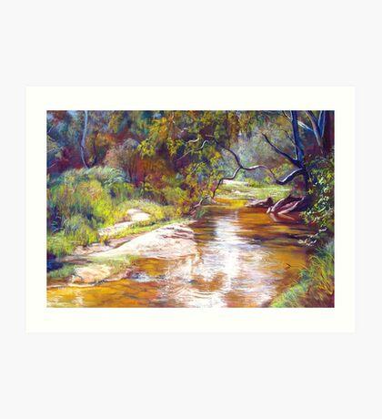 Hughes Creek, Avenel Art Print