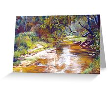 Hughes Creek, Avenel Greeting Card