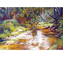 Hughes Creek, Avenel Photographic Print