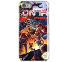 NES Contra Force  iPhone Case/Skin