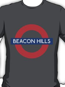 Fandom Tube- BEACON HILLS T-Shirt