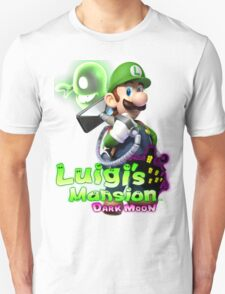 Luigi's Mansion Dark Moon T-Shirt Unisex T-Shirt