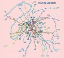 Paris Metro Baby Tee