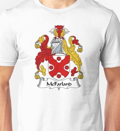 McFarland Coat of Arms / McFarland Family Crest Unisex T-Shirt