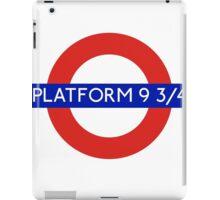 Fandom Tube- PLATFORM 9 3/4 iPad Case/Skin