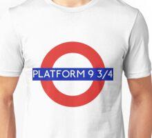 Fandom Tube- PLATFORM 9 3/4 Unisex T-Shirt