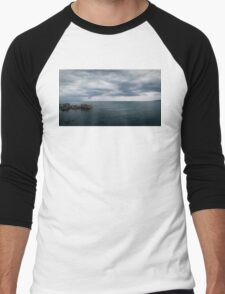 Seascape II Men's Baseball ¾ T-Shirt