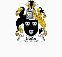 McGee Coat of Arms / McGee Family Crest Unisex T-Shirt