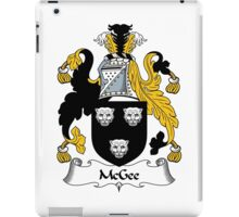 McGee Coat of Arms / McGee Family Crest iPad Case/Skin