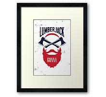 Lumber Jack Gonna Framed Print