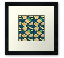 I Have A Zest For Oranges Framed Print
