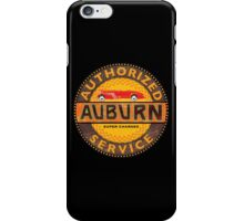 Auburn Cars iPhone Case/Skin