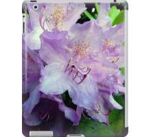 Nature's purple paintbrush iPad Case/Skin