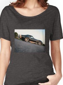 Sunset on the Vette Women's Relaxed Fit T-Shirt
