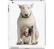English Bull Terrier & Frenchie Friend iPad Case/Skin