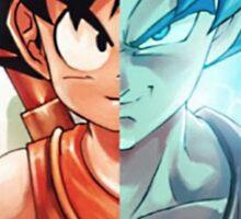 <DRAGON BALL Z> Goku Dual Face Sticker